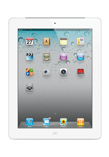 Apple - iPad 2 Wi-Fi + 3G 16Go Blanc