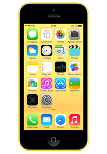 Apple iPhone 5c 8Go JAUNE