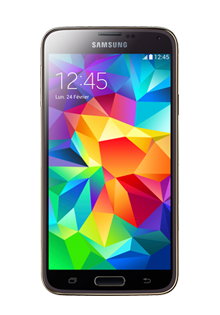 SAMSUNG - Galaxy S5 Gold